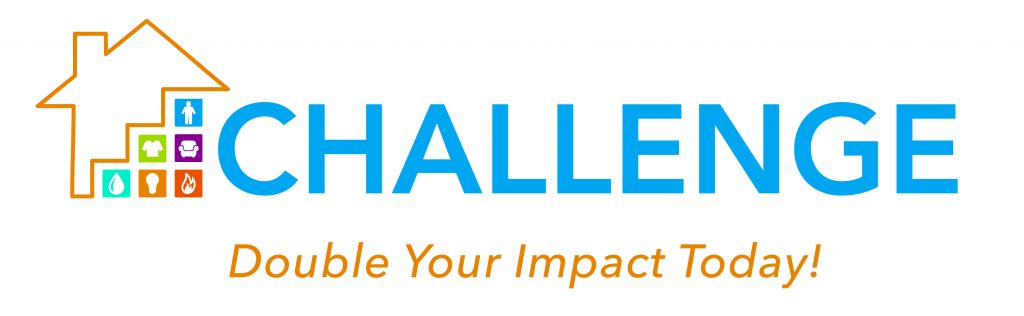 Challenge Logo - Double Your Impact Today!