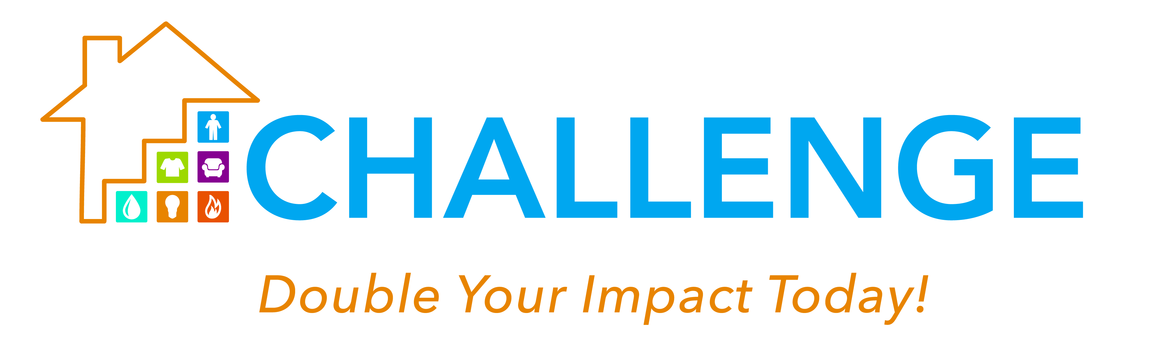 Challenge logo horizontal with tag
